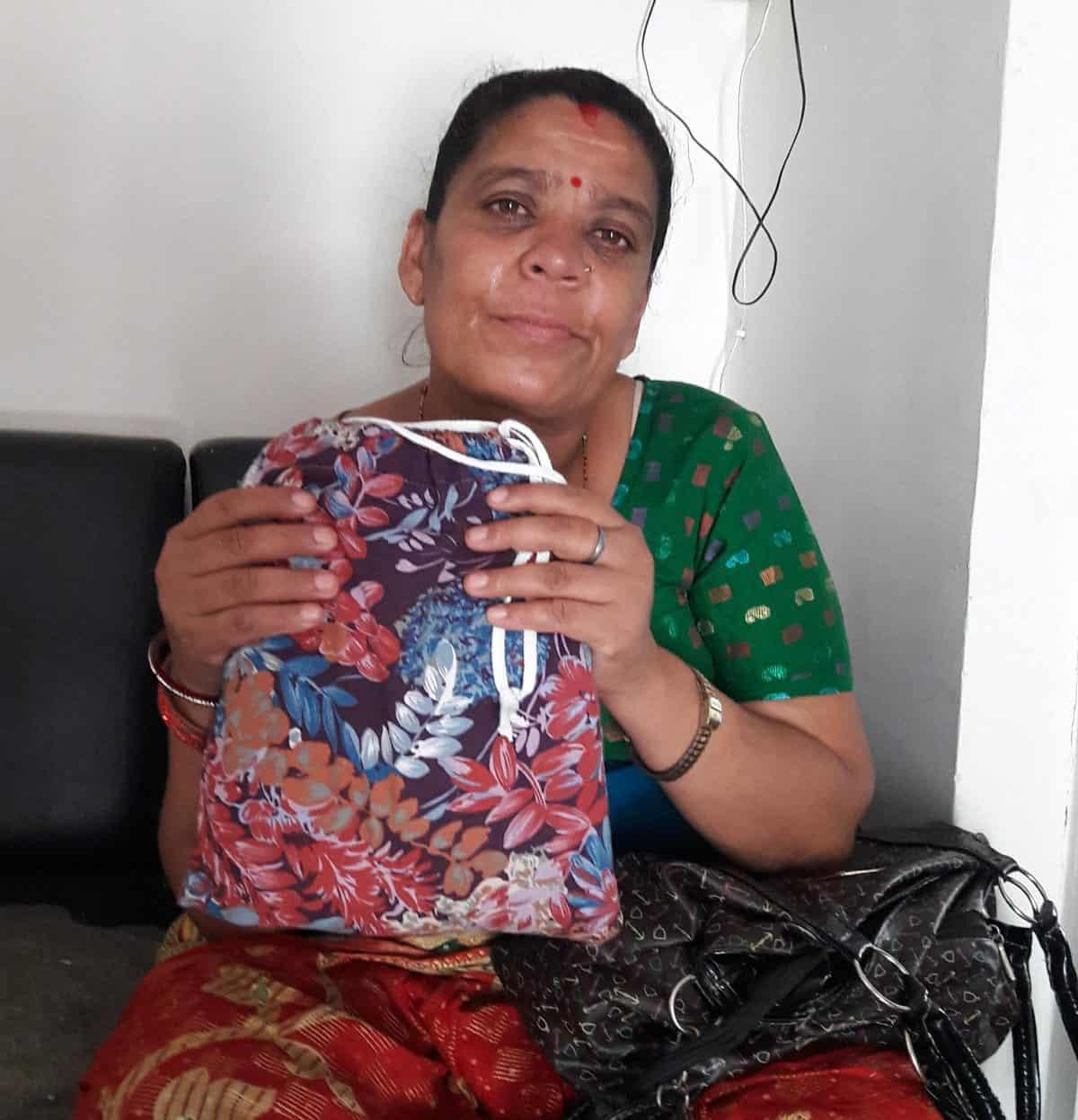 Sita was NHEDF's first fistula patient.