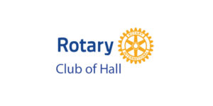 Rotary Club of Hall logo